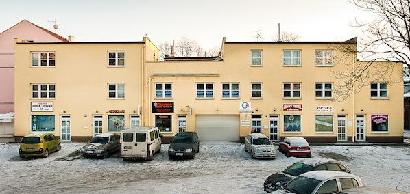 Rehabilitace Ostrava parkoviste